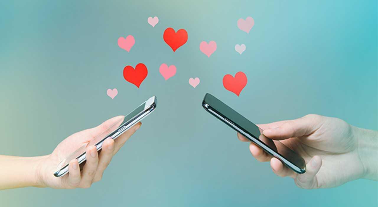 Encontrar amor pela internet
